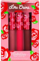 Lime Crime Velvetines True Love Liquid Matte Lipstick Set - Lime Crime Velvetines True Love Set набор из 3 помад жидких матовых стойких